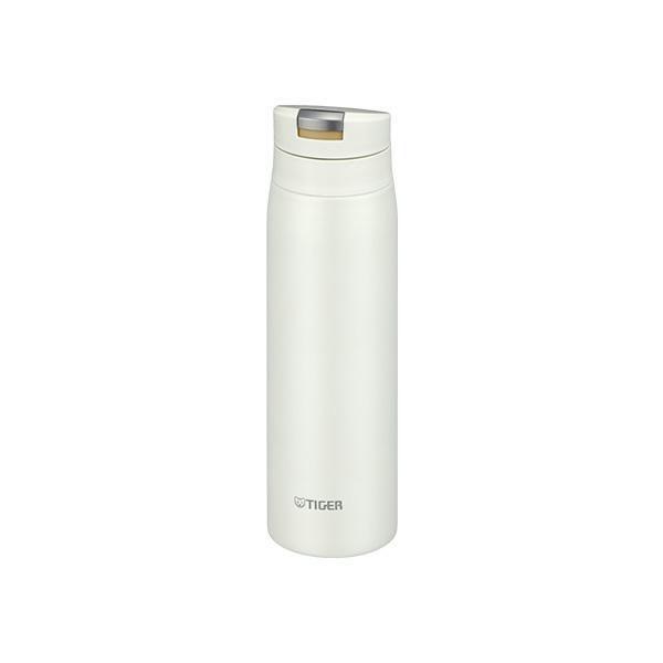 タイガー 水筒 ステンレスボトル 500ml MCX-A502WR 流行のアイテム シェル ホワイト 清潔 保温 ワンプッシュ 与え 保冷 コンパクト 直飲み 軽量