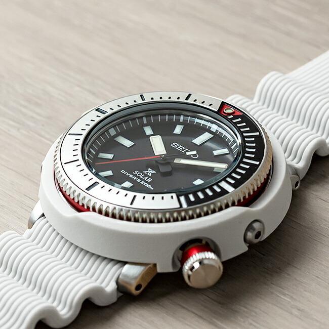 10年保証 日本未発売 SEIKO セイコー プロスペックス ソーラー ダイバー SNE545 腕時計 時計 ブランド メンズ 逆輸入 アナログ ブラック 黒 ホワイト 白 ツナ|timelovers|02