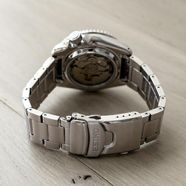 10年保証 SEIKO セイコー 5 スポーツ オートマチック SRPD51 腕時計 時計 ブランド メンズ 逆輸入 ダイバー風 アナログ ネイビー シルバー timelovers 05