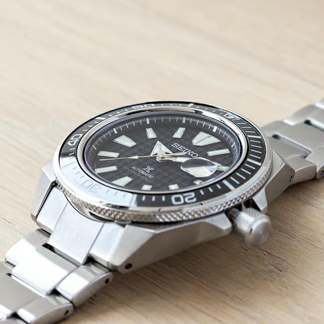 10年保証 日本未発売 SEIKO セイコー プロスペックス オートマチック ダイバー SRPE35 腕時計 時計 ブランド メンズ 逆輸入 アナログ ブラック 黒 シルバー サ|timelovers|02