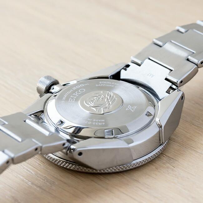 10年保証 日本未発売 SEIKO セイコー プロスペックス オートマチック ダイバー SRPE35 腕時計 時計 ブランド メンズ 逆輸入 アナログ ブラック 黒 シルバー サ|timelovers|03
