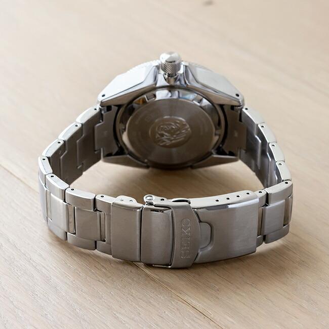 10年保証 日本未発売 SEIKO セイコー プロスペックス オートマチック ダイバー SRPE35 腕時計 時計 ブランド メンズ 逆輸入 アナログ ブラック 黒 シルバー サ|timelovers|04