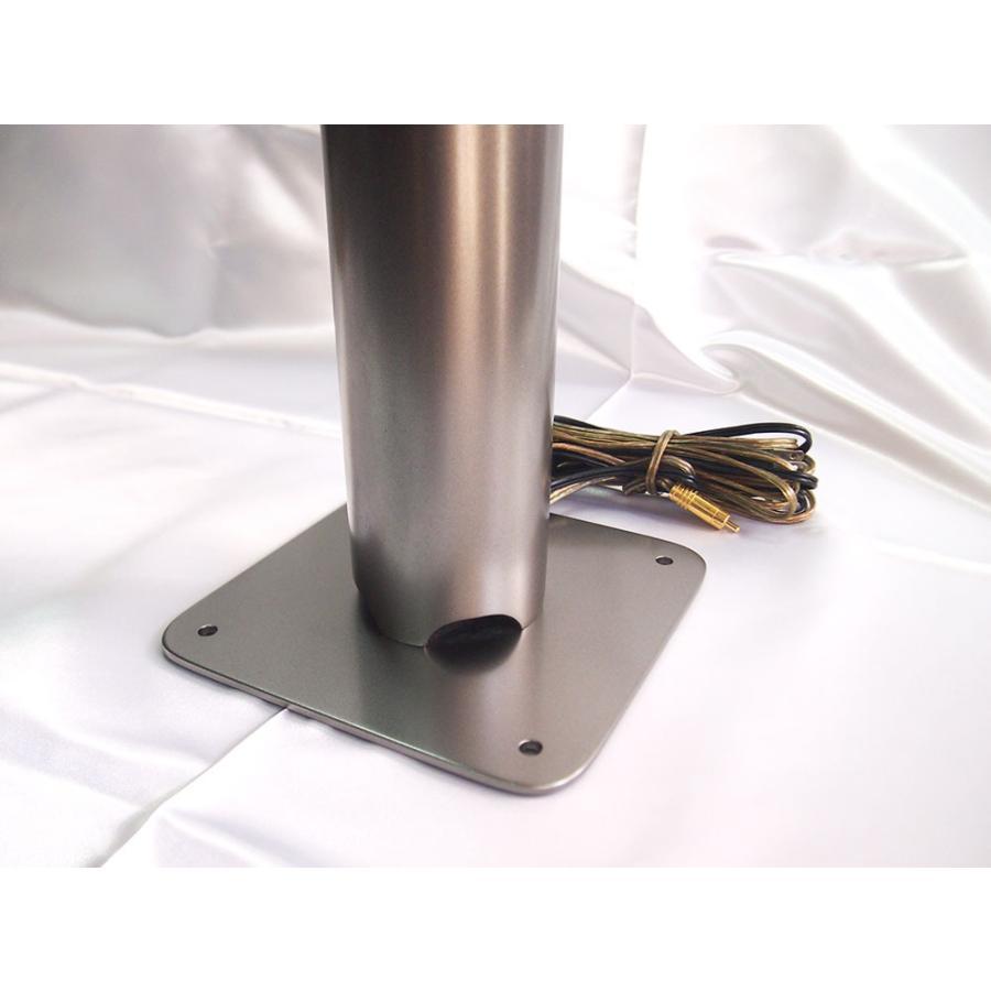 「雅」直径8cm×高さ1m スピーカーとアンプのセット|tinaaudio|03