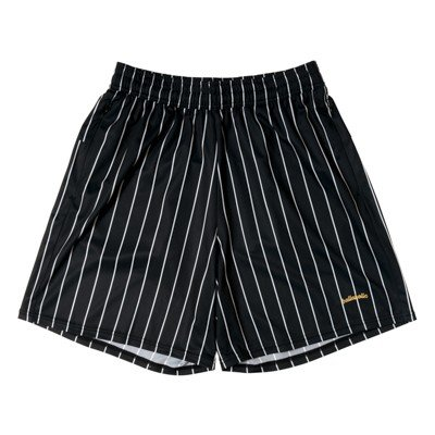 ballaholic LOGO STRIPE Zip Shorts 【BHASH00288BKW】
