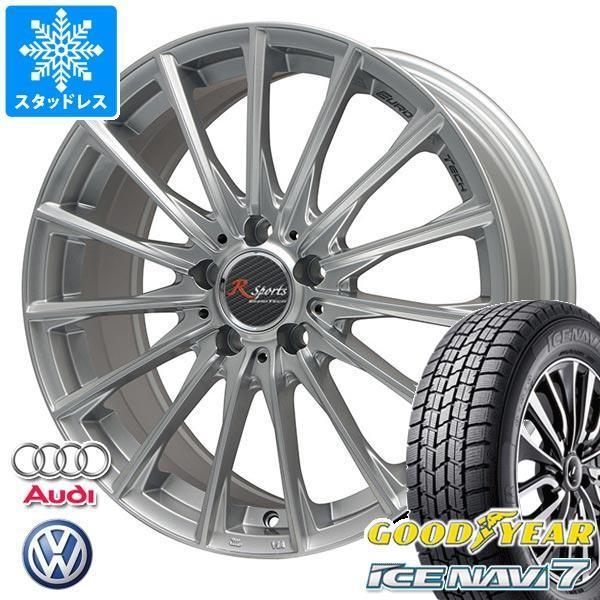 VW ジェッタ用 スタッドレス グッドイヤー アイスナビ7 225/45R17 91Q ユーロテック R スポーツ