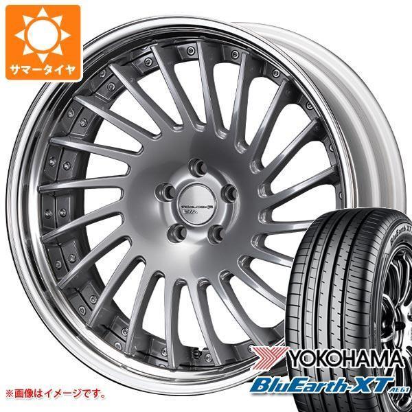 サマータイヤ 235/55R20 102V ヨコハマ ブルーアースXT AE61 SSR エグゼキューター CV05S 8.5-20