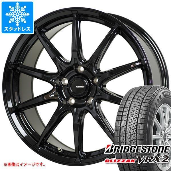 スタッドレスタイヤ 正規品 ブリヂストン ブリザック VRX2 145/70R12 69Q ジースピード G-05 3.5-12