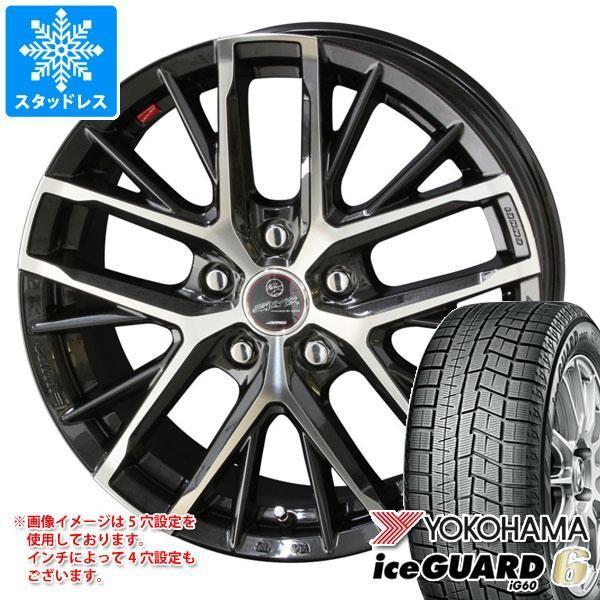 スタッドレスタイヤ ヨコハマ アイスガードシックス iG60 155/55R14 69Q スマック レヴィラ 4.5-14