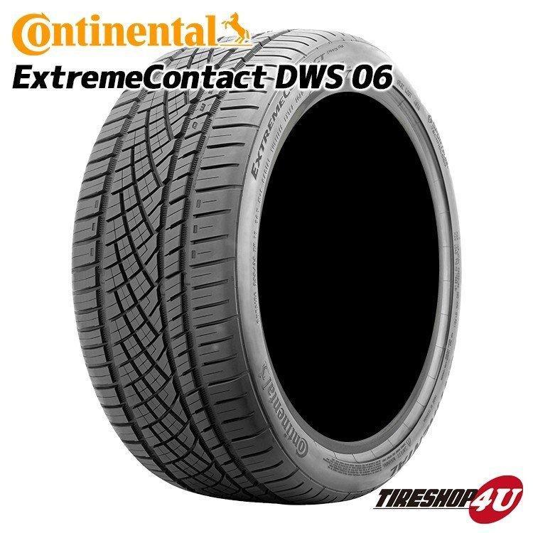 送料無料 2020年製 Continental コンチネンタル EXTREME CONTACT DWS06 エクストリーム 275/35ZR19 100Y XL 275/35R19 275/35-19 サマータイヤ 新品1本価格