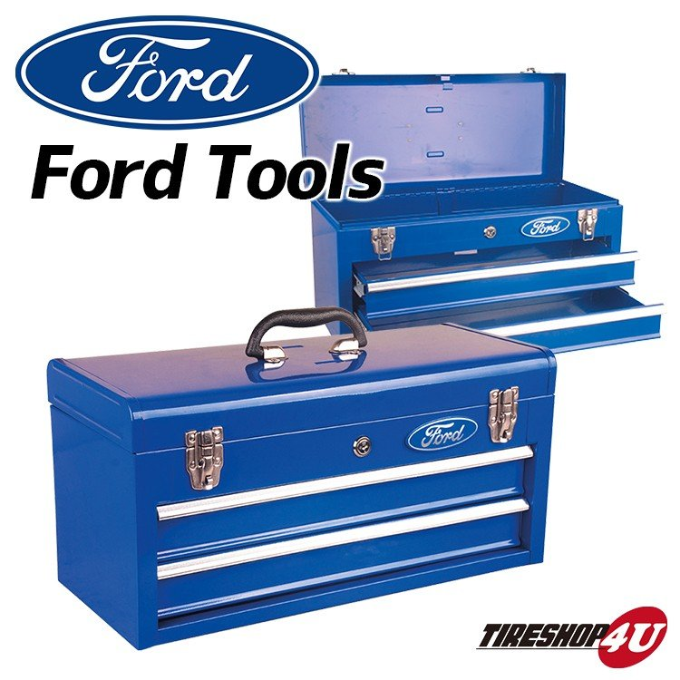 Ford Tools PORTABLE 超歓迎された TOOL 驚きの価格が実現 ポータブルツールボックス BOX ガレージ整備