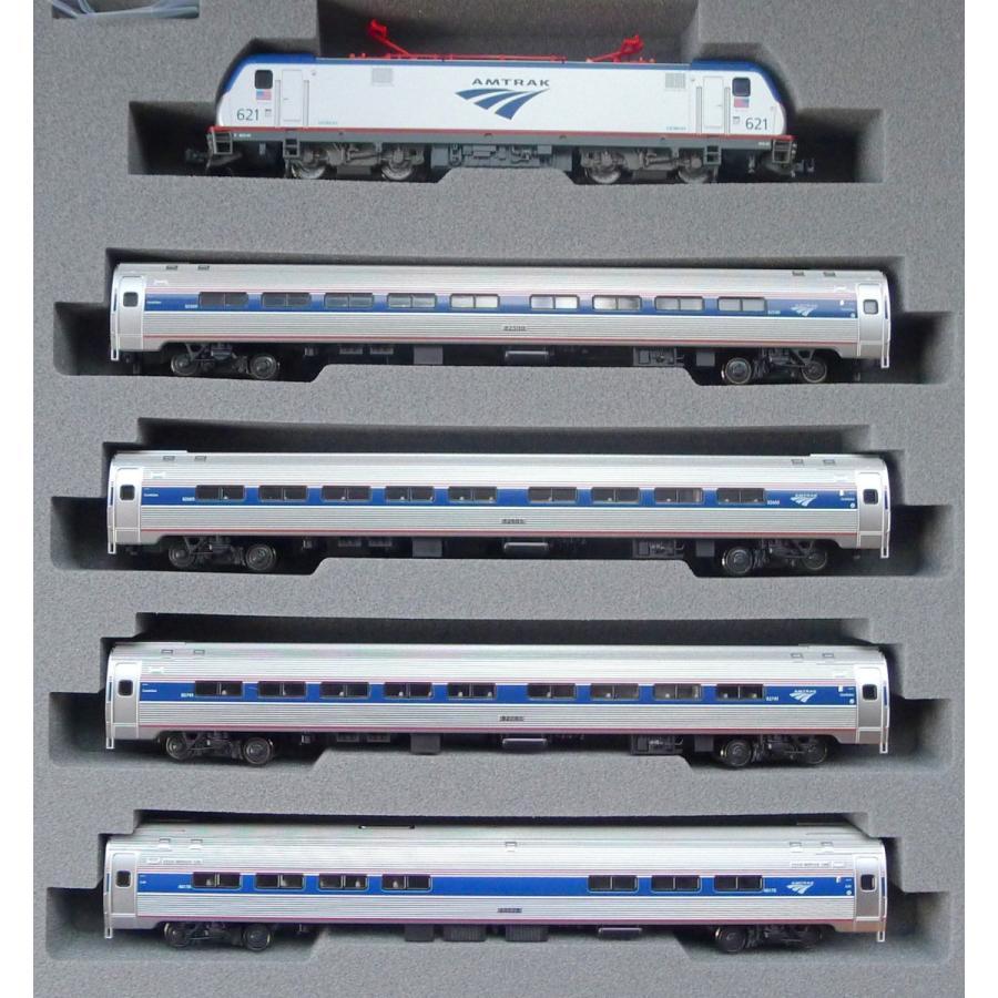 Nゲージ カトー  KATO 10710-2 アムトラック ACS-64・アムフリートI(5両) 10-710-2