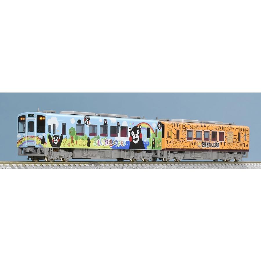 TOMIX トミックス Nゲージ 98062 肥薩おれんじ鉄道 HSOR-100形(くまモンラッピング1号・おれんじちゃん)セット(2両)