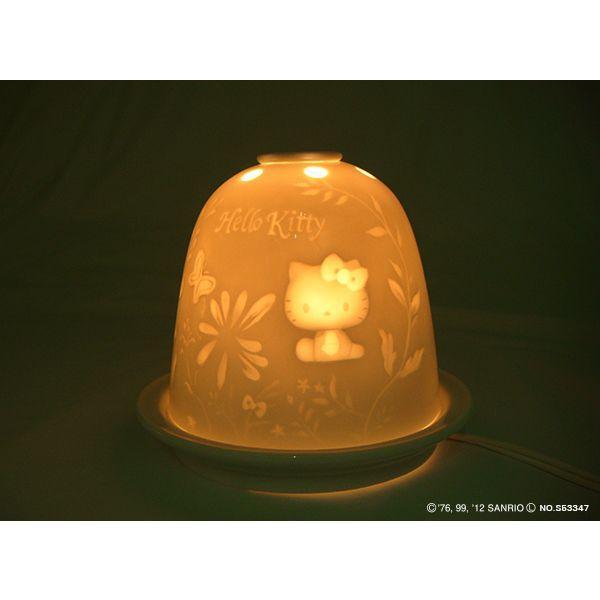 リトファニー・アロマライト・ハローキティ SR-2372A  【 陶器 置物】 /テーケー名古屋人形製陶株式会社|tklace