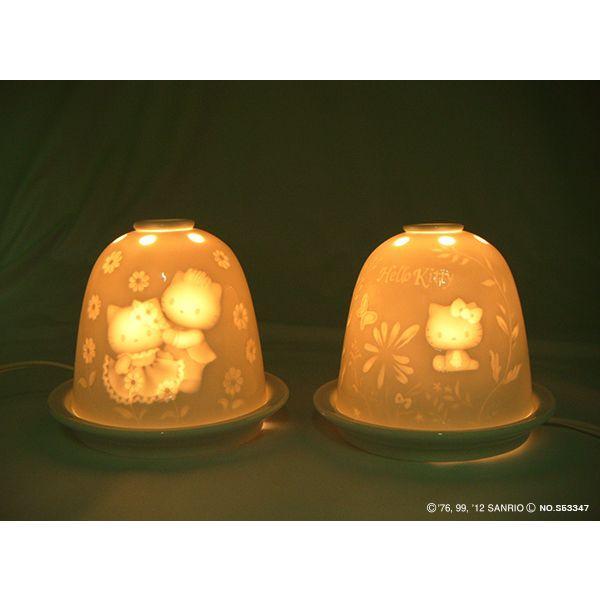 リトファニー・アロマライト・ハローキティ SR-2372A  【 陶器 置物】 /テーケー名古屋人形製陶株式会社|tklace|04