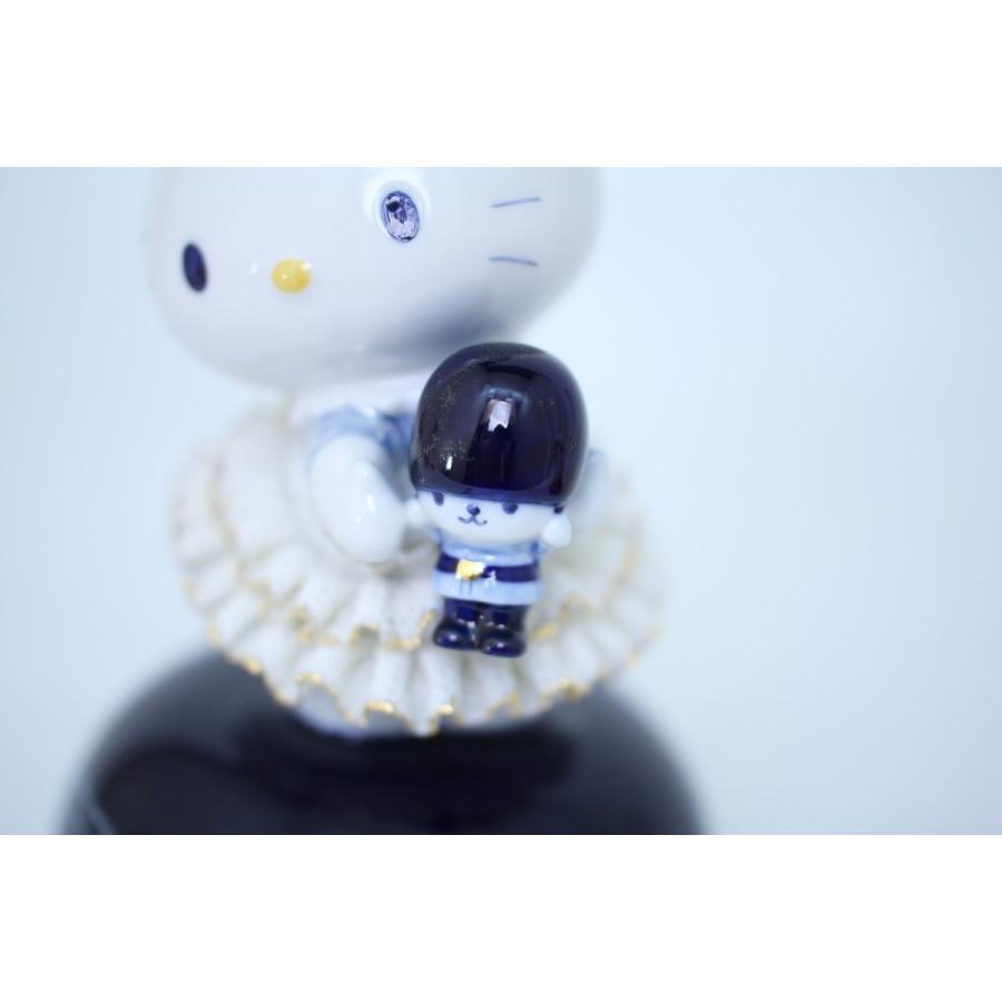 45th  ハローキティ オルゴール イン ロンドン ルリ SR-2411B 【2週間後のお届けとなります】/テーケー名古屋人形製陶株式会社 tklace 05