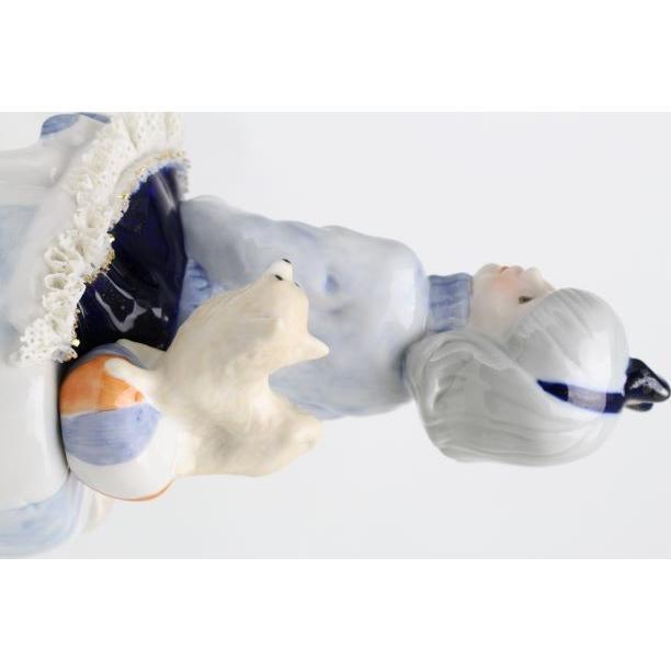 レースドール オルゴール マイ・ファミリー チワワ TKN-2370G  【 陶器 人形 置物】 /テーケー名古屋人形製陶株式会社|tklace|02