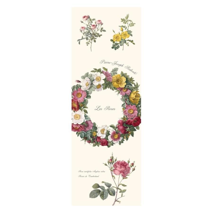 バラのヨガマット リース(花輪)