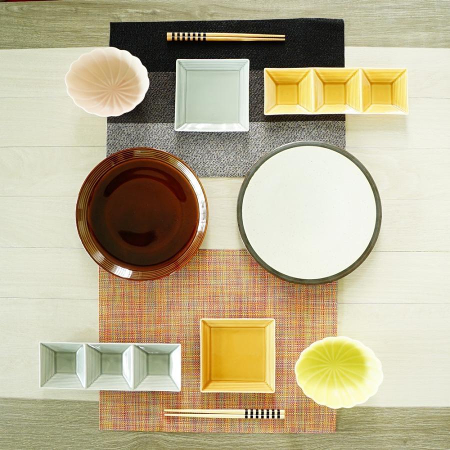 TLP BORDER 24cm PLATE プレート皿 アメ色 茶ブラウン|tlp|03