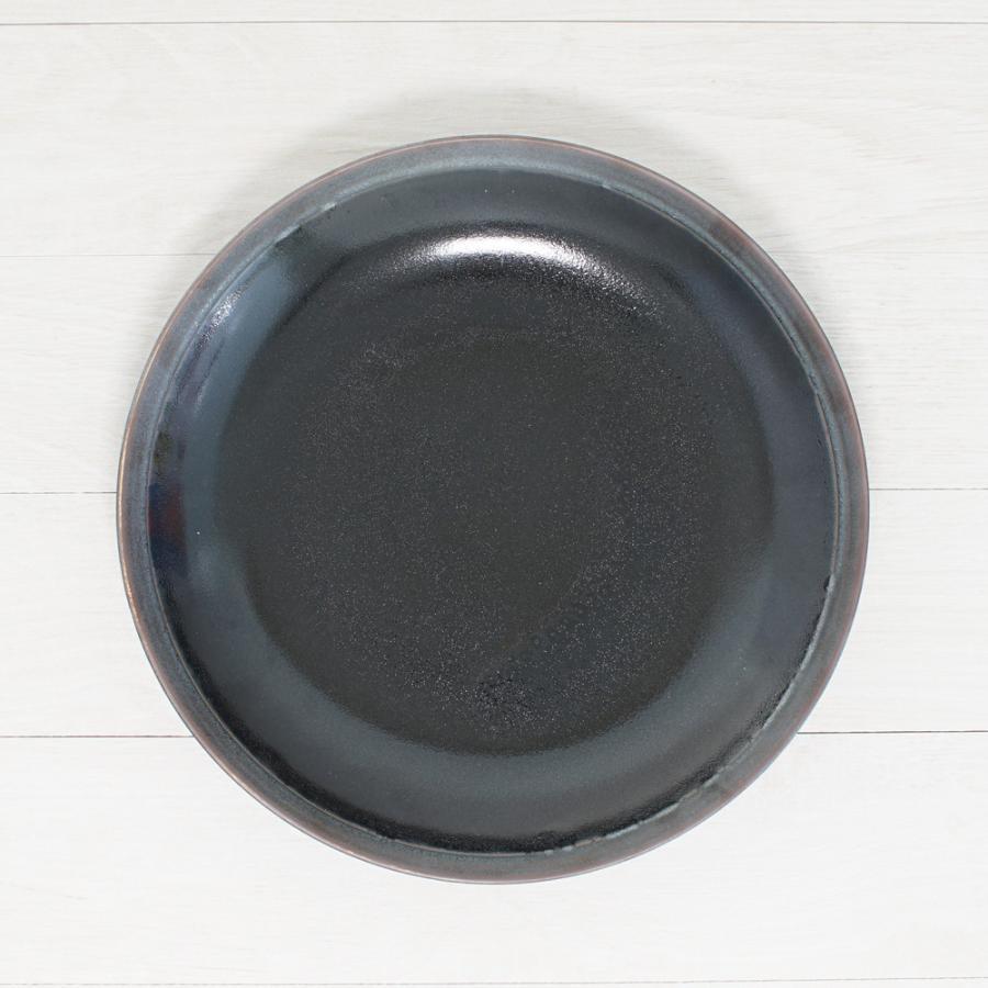 TLP LINE 28cm DEEP PLATE ディーププレート深皿 天目色 黒ブラック tlp