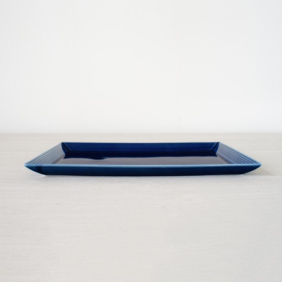 TLP BORDER 27x18cm RECTANGLER PLATE 長角皿 瑠璃色 青ブルー|tlp|02