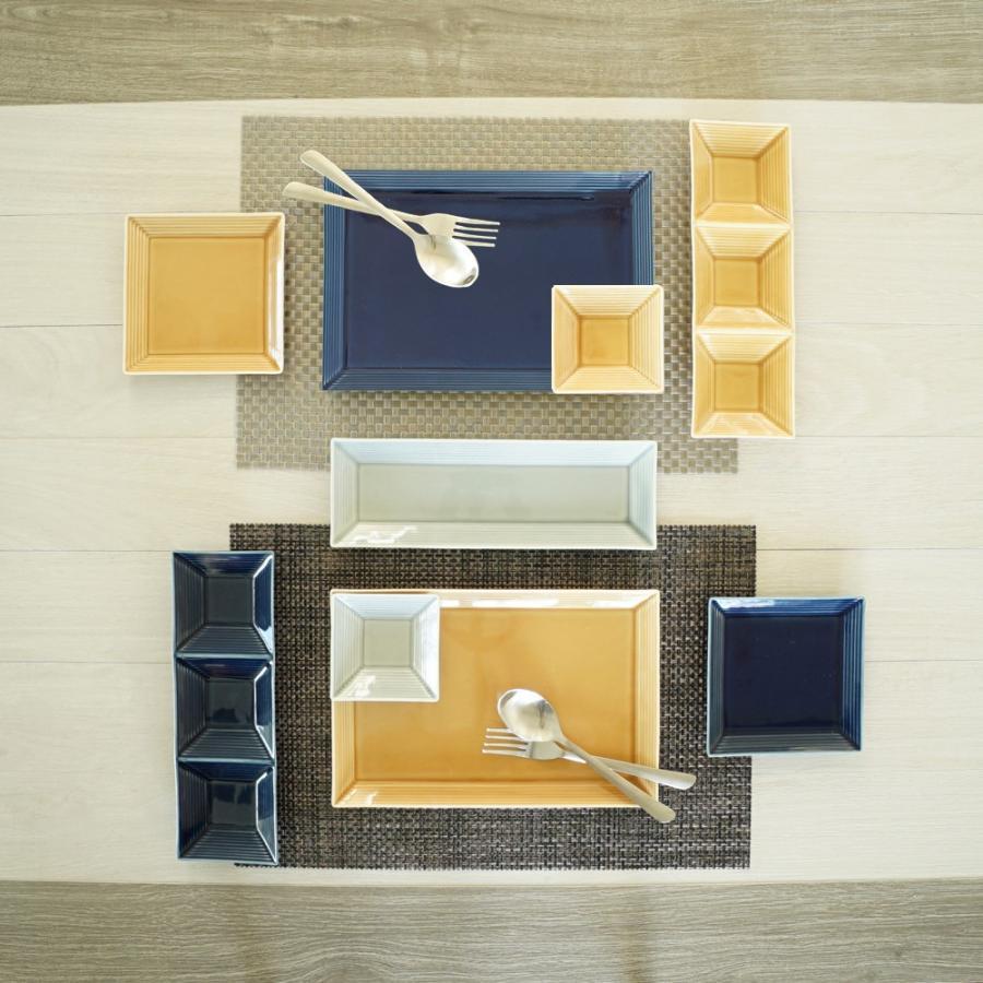 TLP BORDER 27x18cm RECTANGLER PLATE 長角皿 瑠璃色 青ブルー|tlp|03