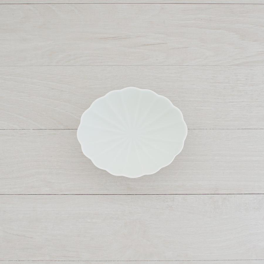 TLP KIKU 16cm OVAL BOWL オーバルボウル菊皿 白ホワイト tlp