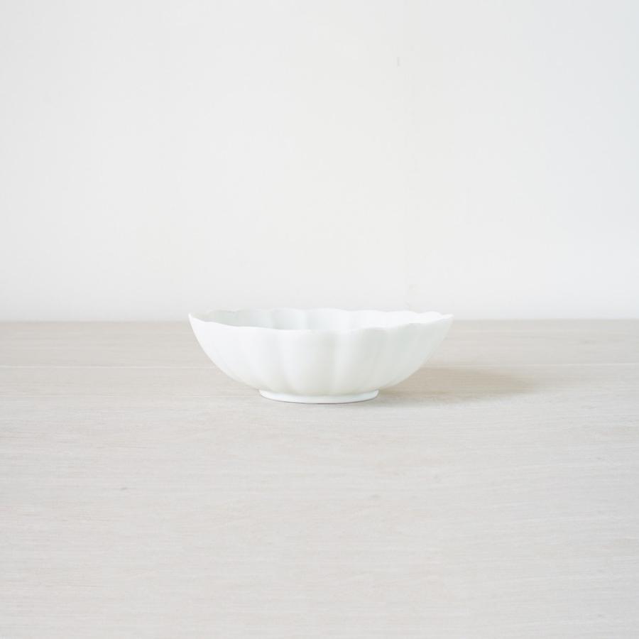 TLP KIKU 16cm OVAL BOWL オーバルボウル菊皿 白ホワイト tlp 02