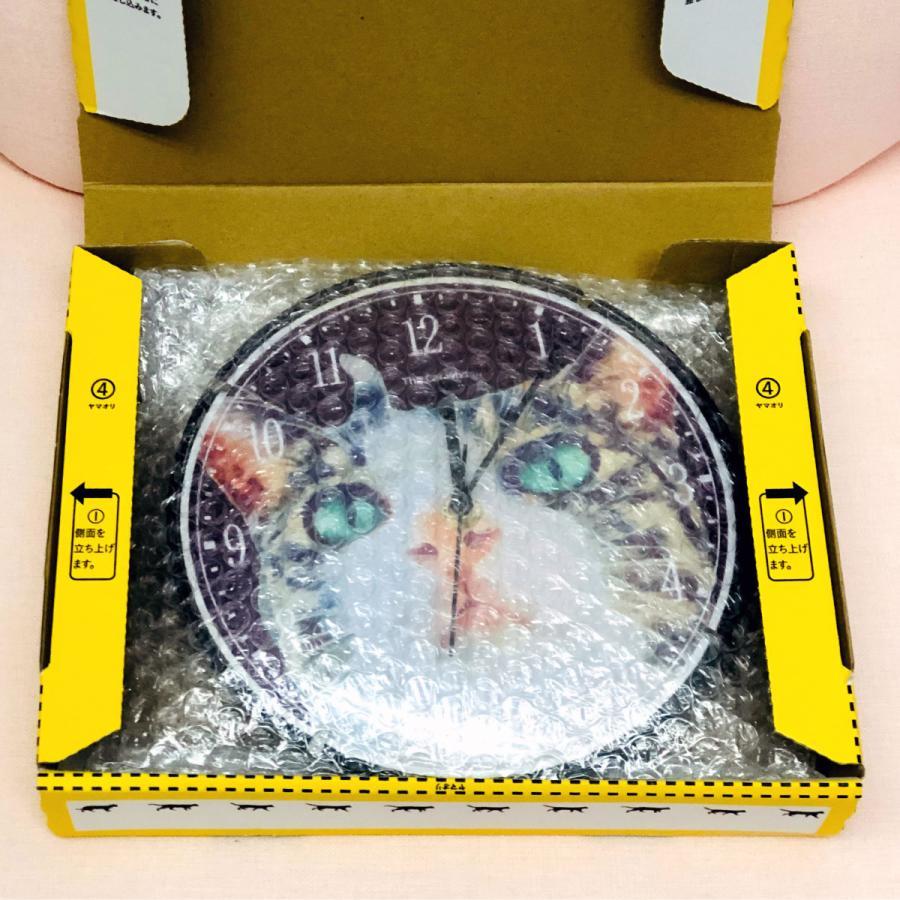 アートフォト壁掛け時計 The Cat who.... 青空ふたり猫 TCw001 (静音 静かな 写真壁時計 Art Photo Cats Clock 子供部屋 リビング とけい 送料無料)|tm1|06