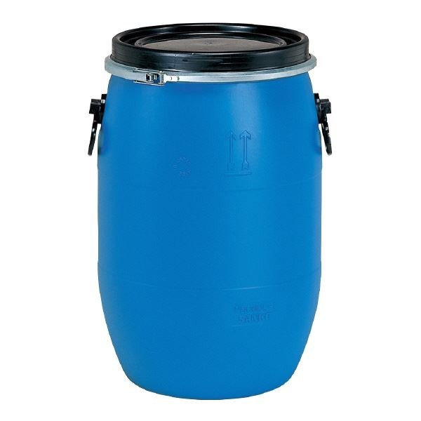 三甲(サンコー) 液体輸送用プラスチックドラム (オープンタイプ) PDO 60L-1 UN認定 ブルー(青)(代引不可)