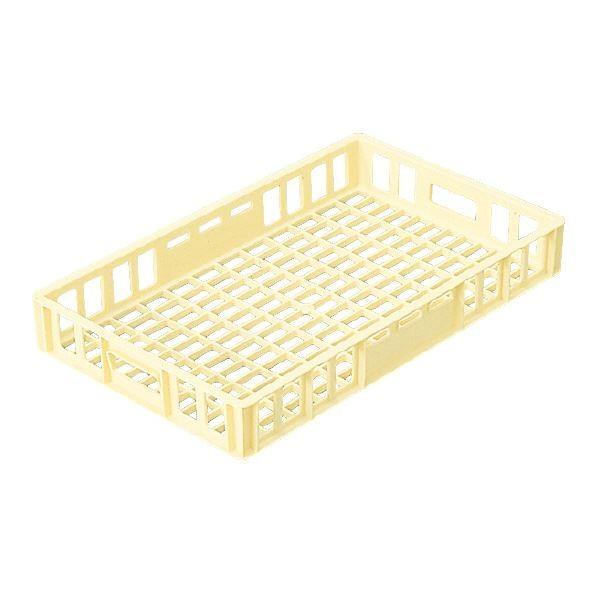 (業務用10個セット)三甲(サンコー) 麺用コンテナボックス 11型 FRPP製 FRPP製 FRPP製 クリーム(代引不可) d40