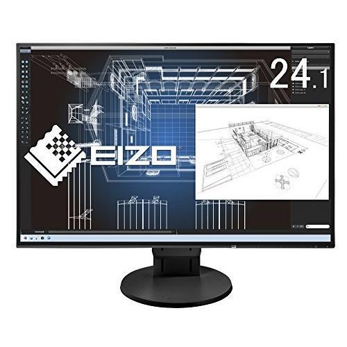 EIZO FlexScan 24.1インチ ディスプレイ モニター (WUXGA/IPSパネル/ノングレア/ブラック/5年間保証&無輝点保証
