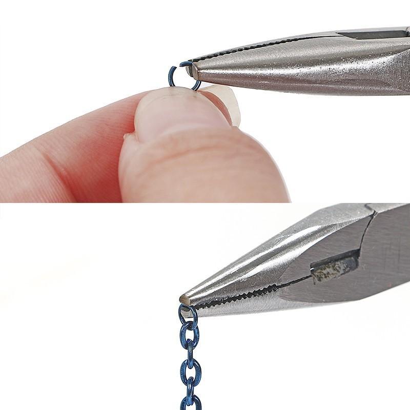 ハンドメイド工具 4点 セット ニッパー 丸やっとこ 平やっとこ ラジオペンチ ヤットコ 手芸工具 初心者 アクセサリー ピアス|tn-b|08
