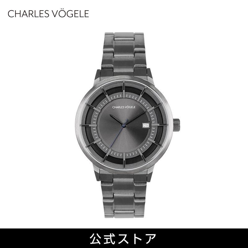 腕時計 Charles Vogele シャルルホーゲル メンズ 公式 V0719.G37 M-2 series (154811) 男性 プレゼント tn-square