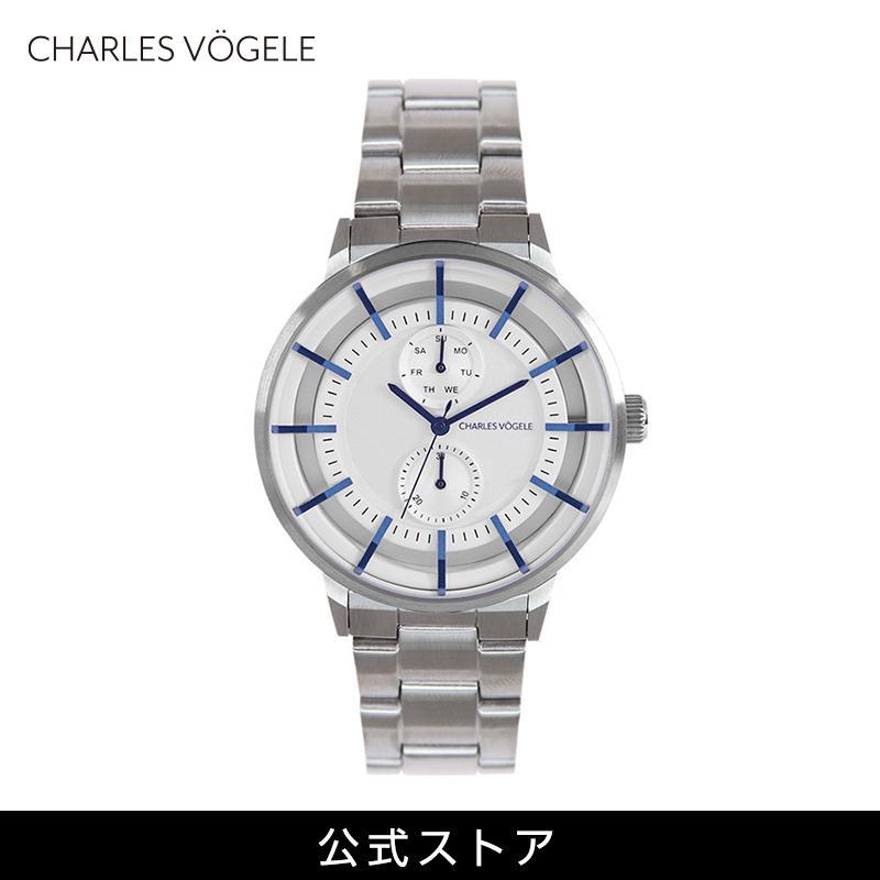 青い時計 上品 高見え 腕時計 Swiss