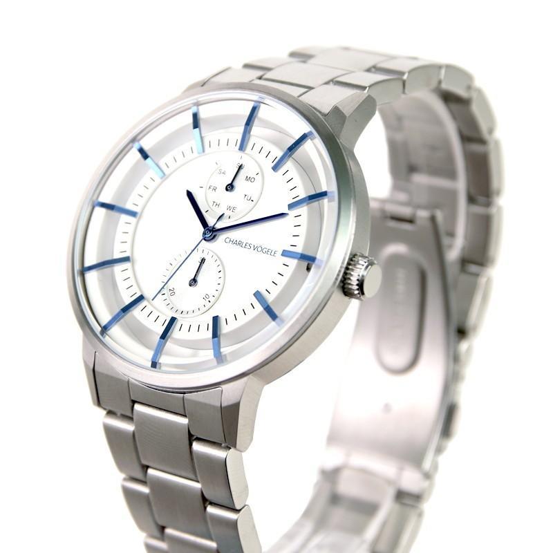 腕時計 Charles Vogele シャルルホーゲル メンズ 公式 V0722.S02 M-5 series (154826) 男性 プレゼント tn-square 02
