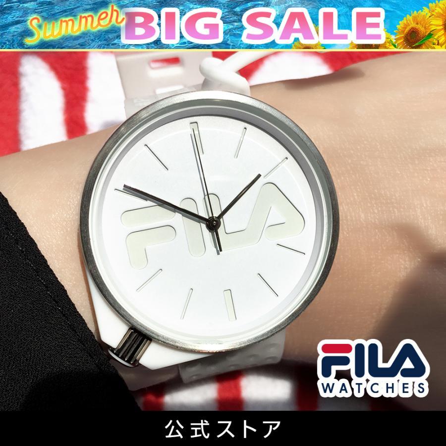 FILA フィラ FILASTYLE フィラスタイル ユニセックス 腕時計 スポーツ 38-199-008 (168016) オシャレ 白 メンズ レディース プレゼント 日本限定|tn-square