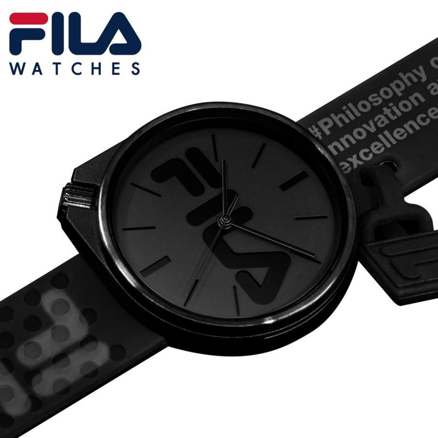 FILA フィラ FILASTYLE フィラスタイル ユニセックス 腕時計 スポーツ 38-199-009 (168017) オシャレ 黒 メンズ レディース プレゼント 日本限定 hawks202110|tn-square|02