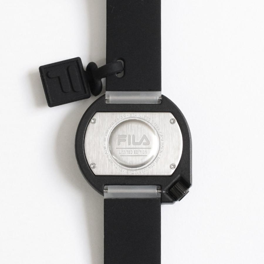 FILA フィラ FILASTYLE フィラスタイル ユニセックス 腕時計 スポーツ 38-199-009 (168017) オシャレ 黒 メンズ レディース プレゼント 日本限定 hawks202110|tn-square|03