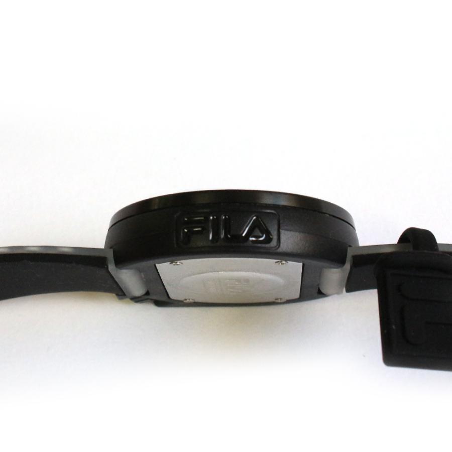 FILA フィラ FILASTYLE フィラスタイル ユニセックス 腕時計 スポーツ 38-199-009 (168017) オシャレ 黒 メンズ レディース プレゼント 日本限定 hawks202110|tn-square|04