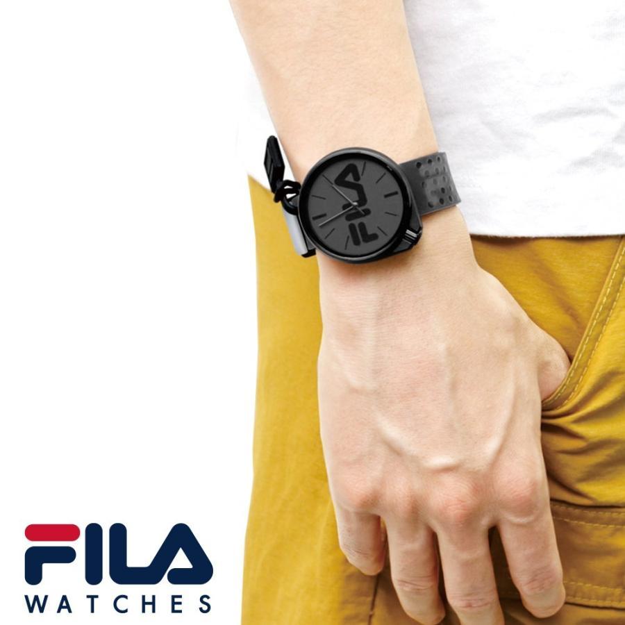 FILA フィラ FILASTYLE フィラスタイル ユニセックス 腕時計 スポーツ 38-199-009 (168017) オシャレ 黒 メンズ レディース プレゼント 日本限定 hawks202110|tn-square|05
