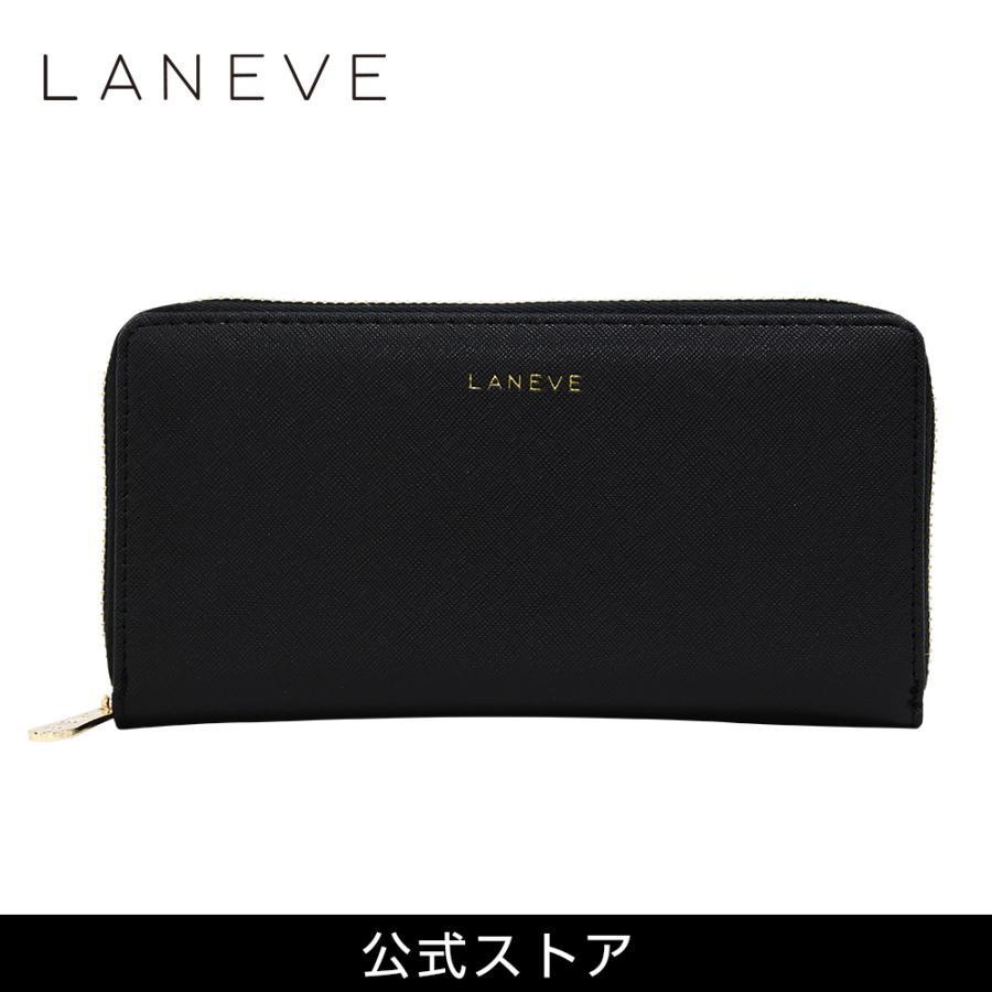 プレゼント LANEVE ランイブ レディース 長財布 L56801 BK ブラック 黒 (169003) 女性 おしゃれ 通勤 通学|tn-square