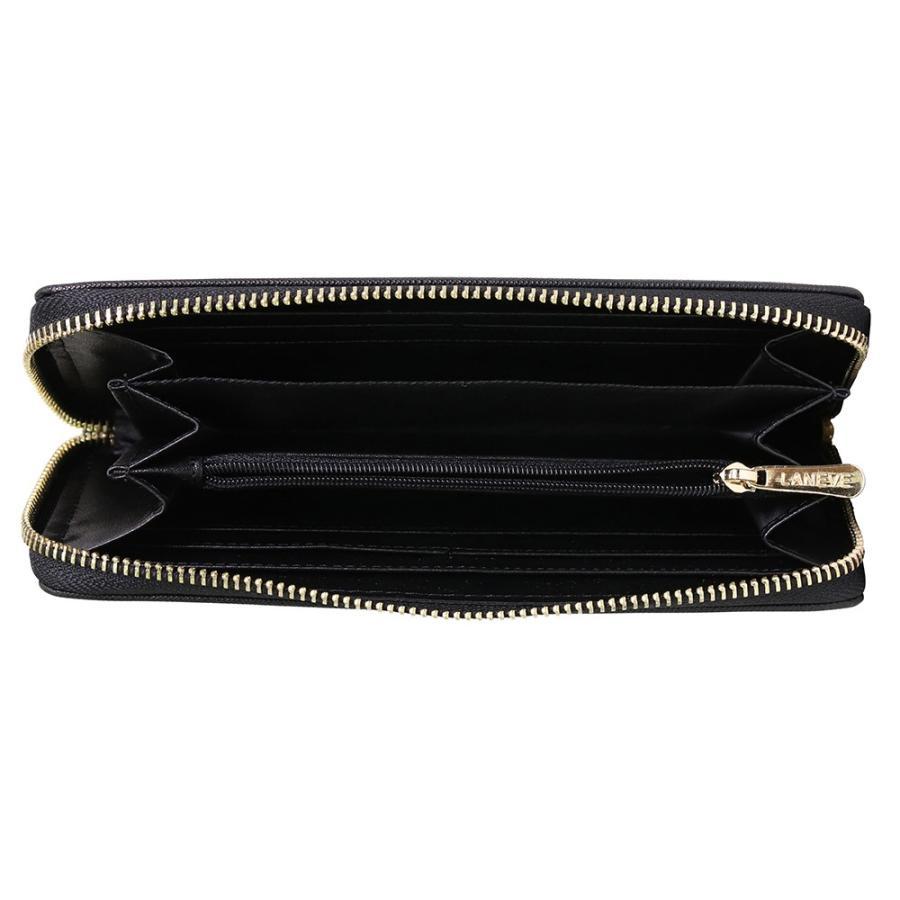 プレゼント LANEVE ランイブ レディース 長財布 L56801 BK ブラック 黒 (169003) 女性 おしゃれ 通勤 通学|tn-square|04
