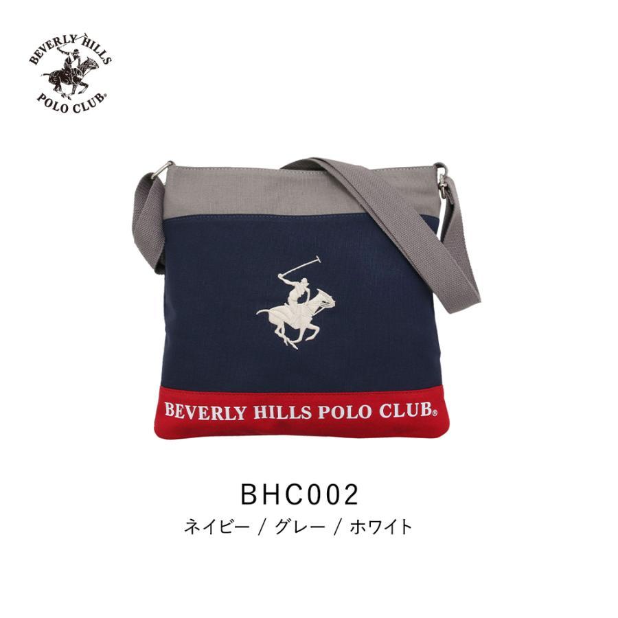 ショルダーバッグ メンズ レディース ビバリーヒルズ ポロ クラブ BEVERLY HILLS POLO CLUB BHC002 ネイビー/グレー/ホワイト (181273) hawks202110 tn-square 03