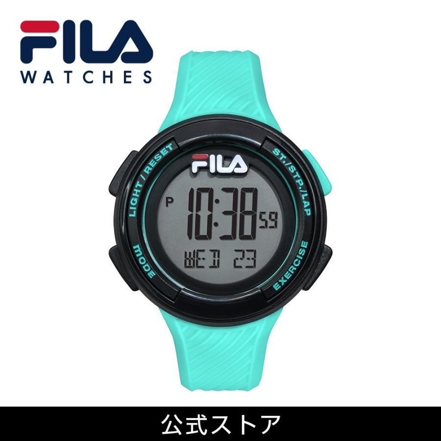 FILA フィラ FILACTIVE フィラスタイル ユニセックス 腕時計 スポーツ 38-163-003 (156828) ミント ミックスコーデ { 誕生日 プレゼント}|tn-square