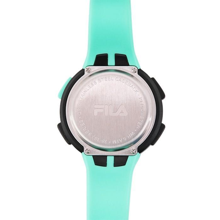 FILA フィラ FILACTIVE フィラスタイル ユニセックス 腕時計 スポーツ 38-163-003 (156828) ミント ミックスコーデ { 誕生日 プレゼント}|tn-square|04