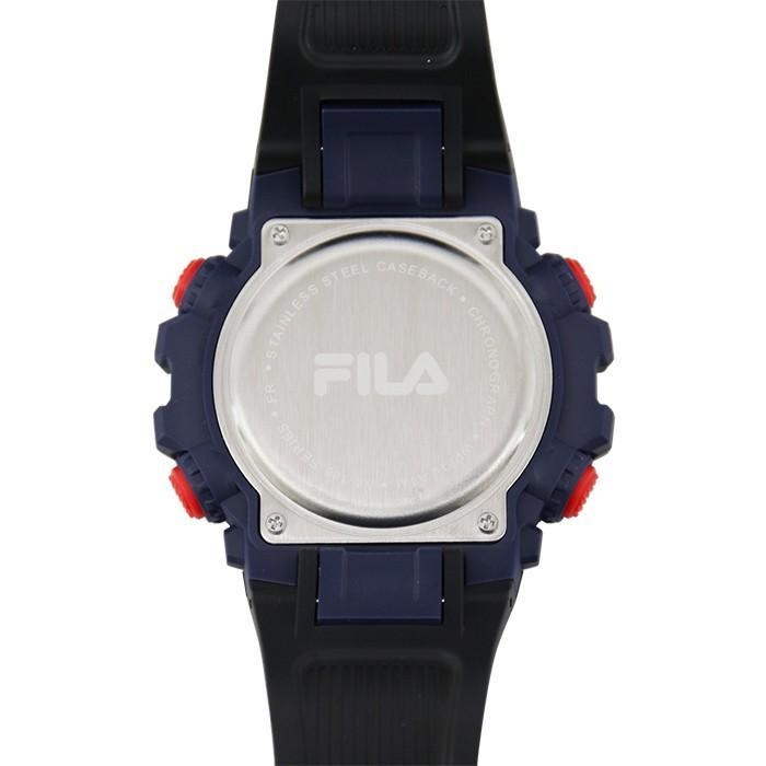FILA フィラ ユニセックス 腕時計 スポーツ 38-188-003 (160400) ブラック アウトドア ウォッチ {敬老の日 プレゼント}|tn-square|04