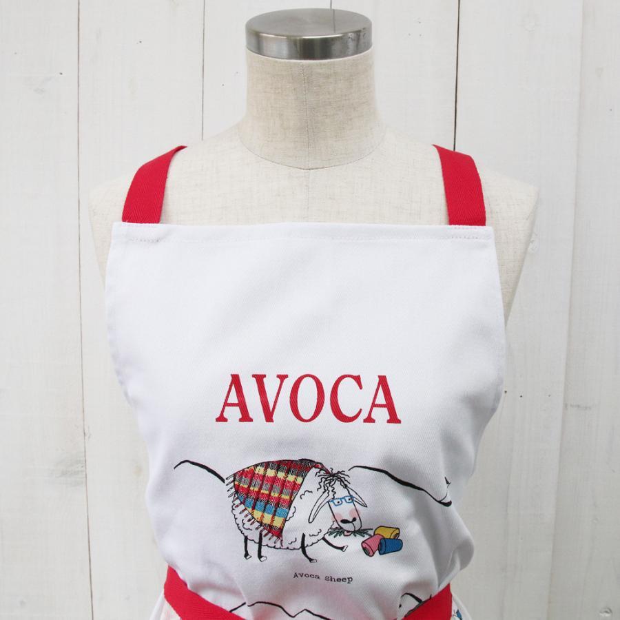 アウトレット エプロン おしゃれ 可愛いブランド AVOCA アヴォカ AVOCA SHEEP APRON THROUGH THE AGES ( apron-sheep ) {  保育士 羊 シープ アイルランド製 綿 tn-square 04