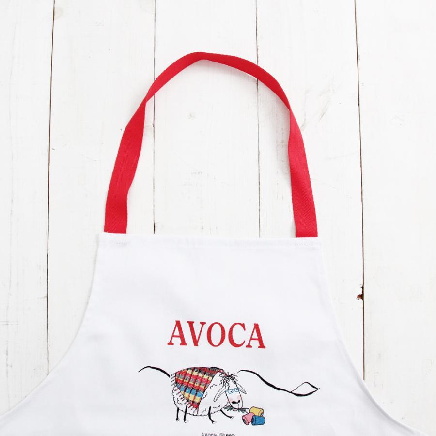 アウトレット エプロン おしゃれ 可愛いブランド AVOCA アヴォカ AVOCA SHEEP APRON THROUGH THE AGES ( apron-sheep ) {  保育士 羊 シープ アイルランド製 綿 tn-square 05