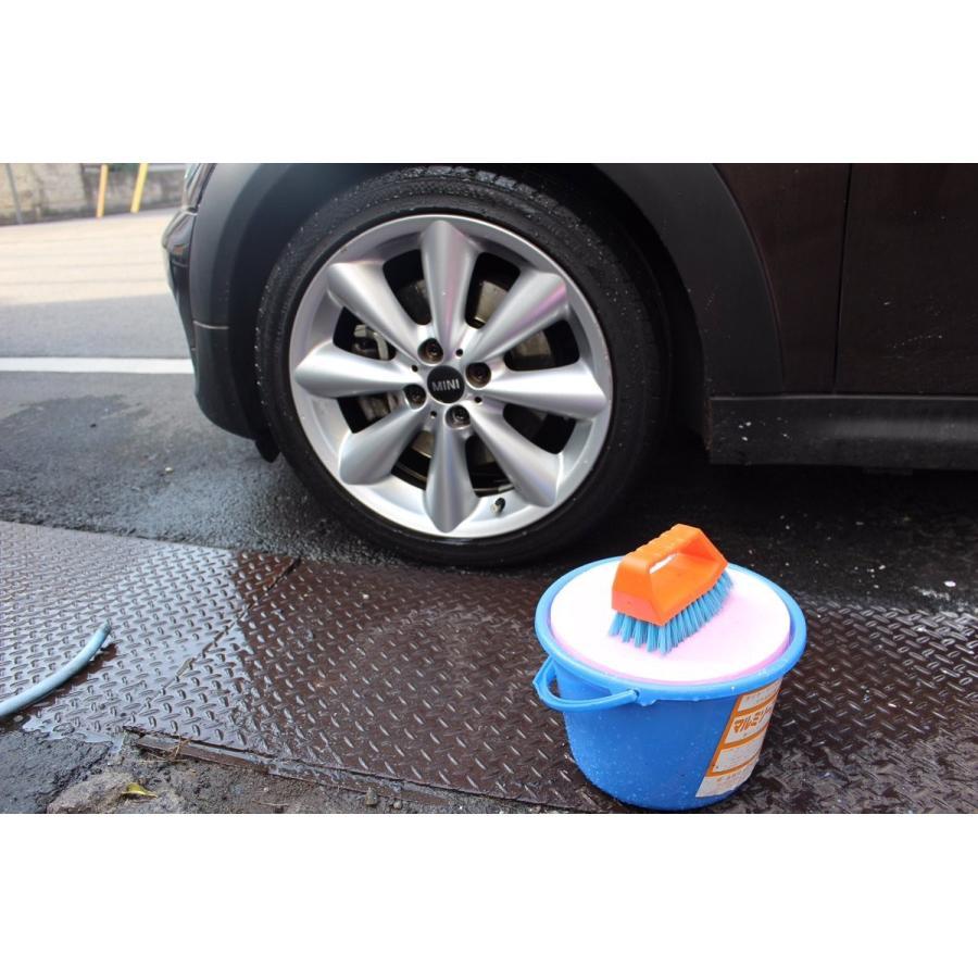 バケツ石鹸 6kg 車用石鹸 タイヤ洗剤 ピンク 研磨剤不使用 国産固形石けん|tnk-tokyo|02