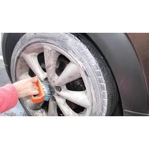 バケツ石鹸 6kg 車用石鹸 タイヤ洗剤 ピンク 研磨剤不使用 国産固形石けん|tnk-tokyo|03